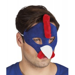 Masque coq de supporter