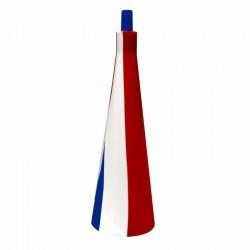 Vuvuzela bleu, blanc, rouge