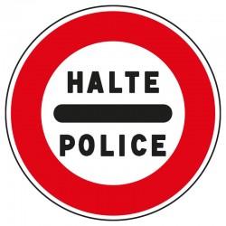 Barrage de police