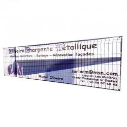 Banderole tissu Maillunic, 100 % polyester