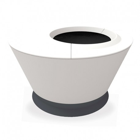 Pot + tablette (table basse) - Rio