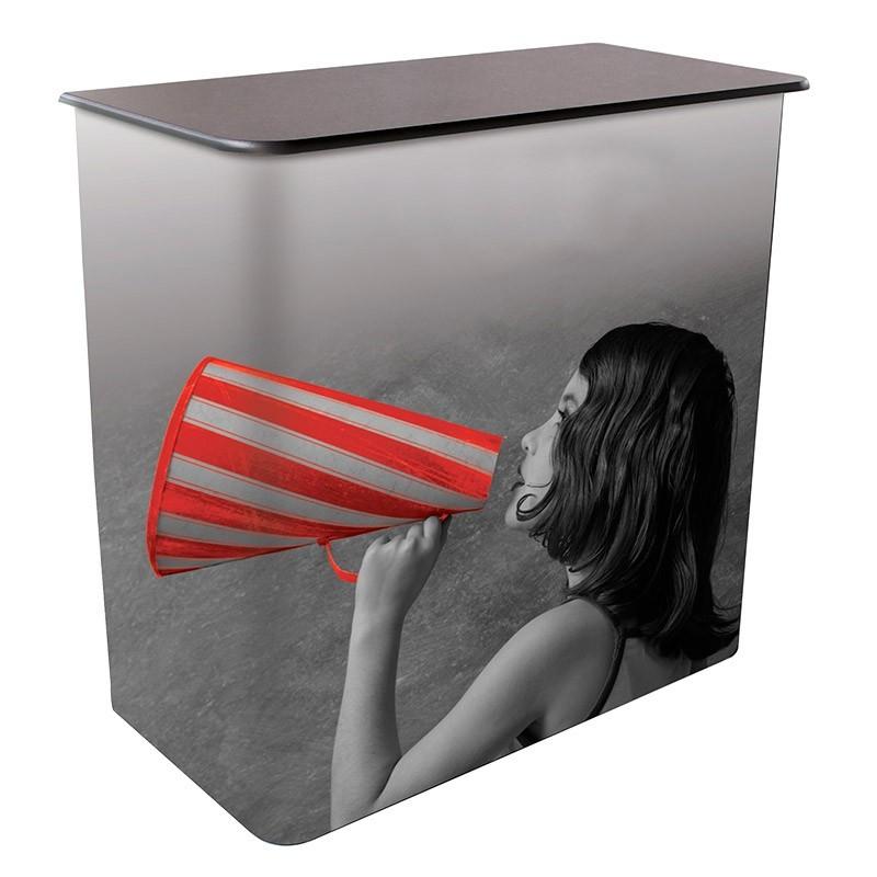 Comptoir pour stand plio for Support de communication pour salon
