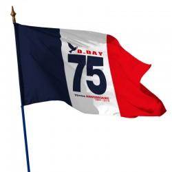 Drapeaux du 75eme Anniversaire D-DAY