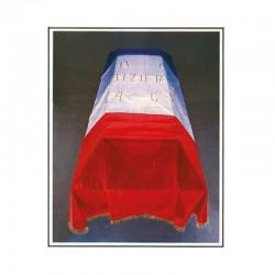 Drap mortuaire tricolore