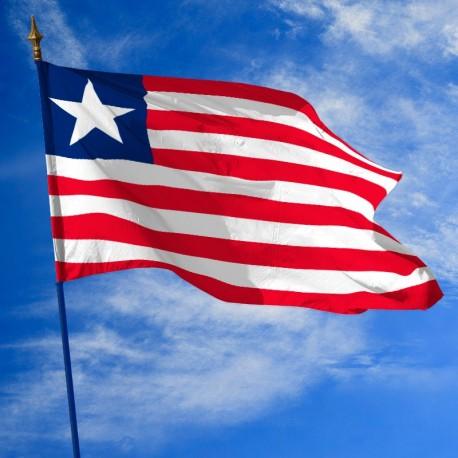 Drapeau Liberia dans drapeaux des pays Unic