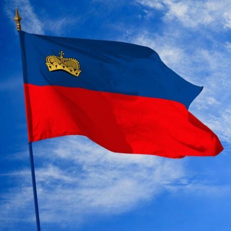 Drapeau Liechtenstein drapeaux des pays Unic