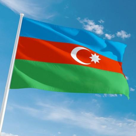 Pavillon Azerbaïdjan drapeau pays Unic