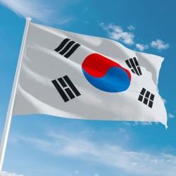Pavillon Corée du Sud tous les drapeaux Unic