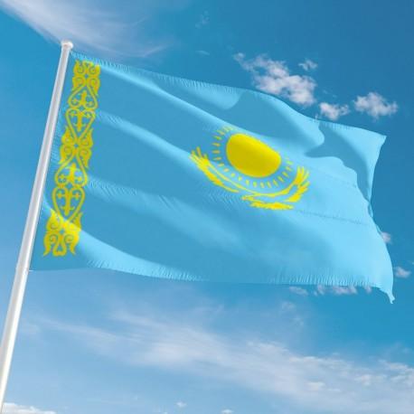Pavillon Kazakhstan drapeau du monde Unic