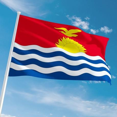 Pavillon Kiribati drapeau du monde Unic