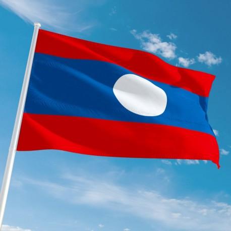 Pavillon Laos drapeau du monde Drapeaux Unic