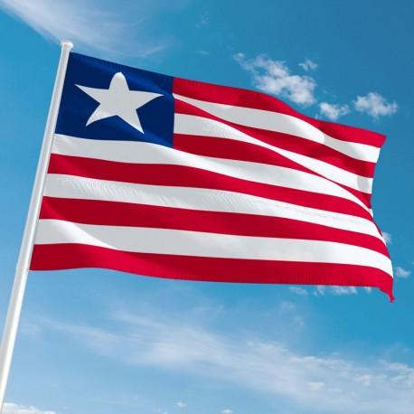 Pavillon Liberia drapeau du monde Unic