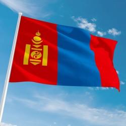 Pavillon Mongolie dans drapeaux des pays Unic