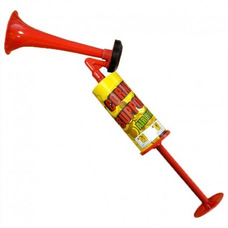 Corne de brume de supporter, manuelle