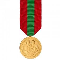 Médaille de la famille française Drapeaux Unic