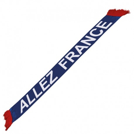 "Echarpe supporter ""Allez France"""