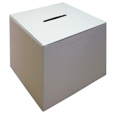 Urne de vote en carton
