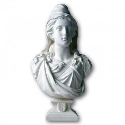 Buste de Marianne 80 cm artisanal France Drapeaux Unic