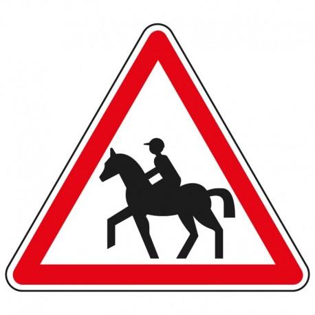 Proximité de passage de cavaliers