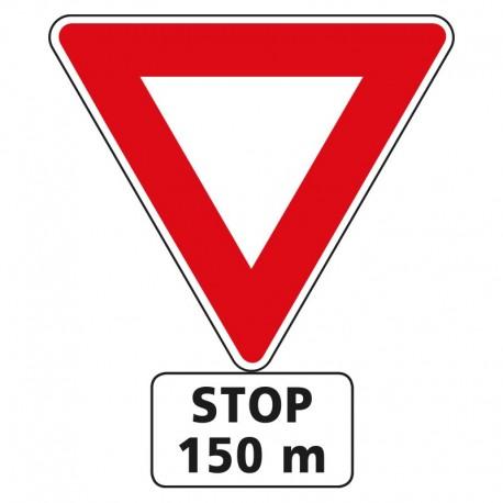 Stop dans 150m