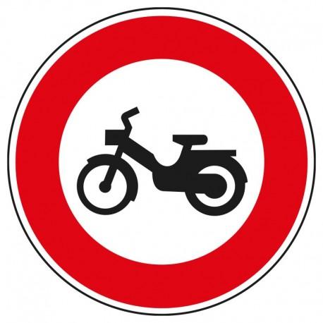 Interdit aux cyclomoteurs