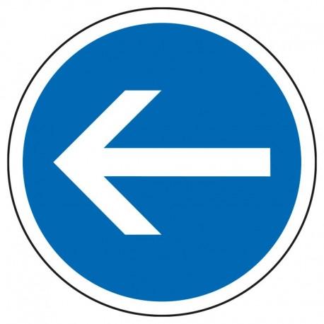 Obligation de tourner à gauche