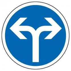 Obligation de direction (à droite ou à gauche)