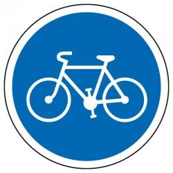 Obligation pour les cyclistes de prendre la piste cyclable