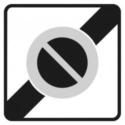 Fin d'une zone à stationnement interdit