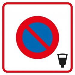 Début d'une zone à stationnement payant