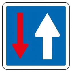 Priorité par rapport à la circulation venant d'en face