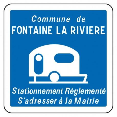 Stationnement réglementé pour les caravanes