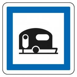 Terrain de camping pour caravanes
