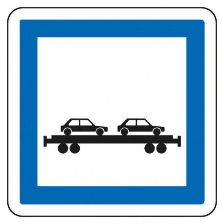 Gares où s'effectue le chargement des véhicules sur des trains