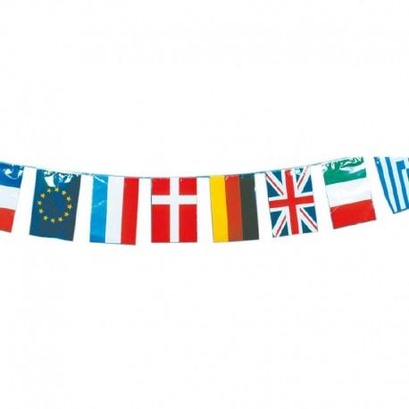 Guirlande plastique - International