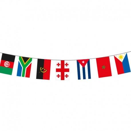 Guirlande tissu - Internationaux