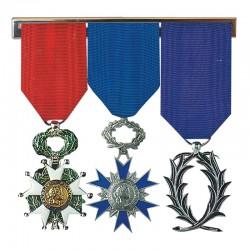 Barrettes porte-médailles - De 2 à 6 réductions