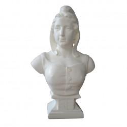 Buste de Marianne artisanale Drapeaux Unic