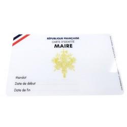 Carte d'identité Maire