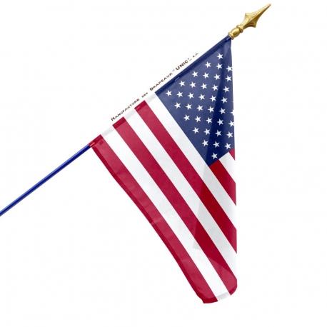 Drapeau Etats Unis drapeau du monde Unic