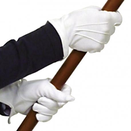Gants blancs anciens combattants Drapeaux Unic
