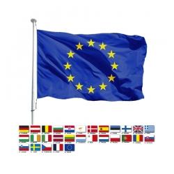 Kit colisage Europe pavillons pays Union Européenne