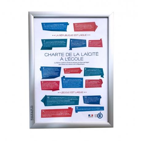 Charte de la laïcité Drapeaux Unic