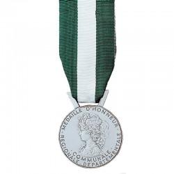 Médaille du travail 20 ans argent régionale départementale et communale