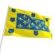 Pavillon Vivarais dans drapeaux des provinces françaises Unic