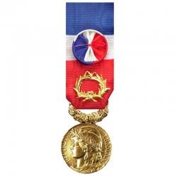 Médaille du travail 40 ans d'ancienneté
