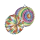 Ballon rond multicolore