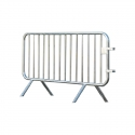 Barrière en acier galvanisé