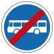 Fin de voie obligatoire pour transport en commun