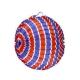 Ballon rond tricolore Ø 22 cm